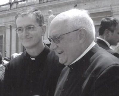 P. Carlos Walker y P. Carlos Buela